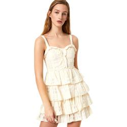 Odjeća Žene  Kratke haljine Liu Jo FA0312 T4190 Bijela