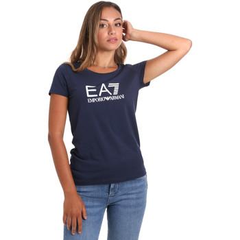 Odjeća Žene  Majice kratkih rukava Ea7 Emporio Armani 8NTT63 TJ12Z Plava