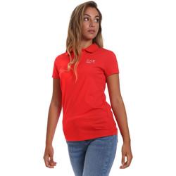 Odjeća Žene  Polo majice kratkih rukava Ea7 Emporio Armani 3HTF57 TJ29Z Crvena