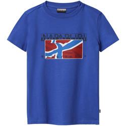 Odjeća Djeca Majice kratkih rukava Napapijri NP0A4E52 Plava