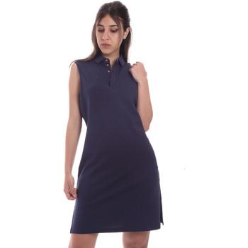 Odjeća Žene  Kratke haljine Ea7 Emporio Armani 3HTA58 TJI3Z Plava