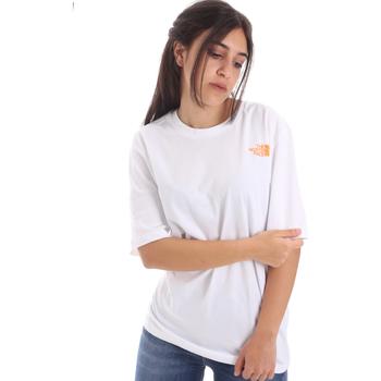 Odjeća Žene  Majice kratkih rukava The North Face NF0A4M5QP9V1 Bijela