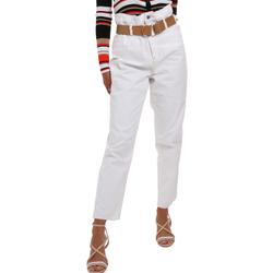 Odjeća Žene  Chino hlačei hlače mrkva kroja Liu Jo WA0281 T6446 Bijela