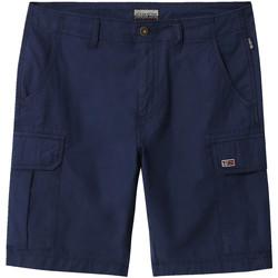Odjeća Muškarci  Bermude i kratke hlače Napapijri NP0A4E1K Plava