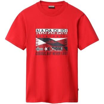 Odjeća Muškarci  Majice kratkih rukava Napapijri NP0A4E35 Crvena