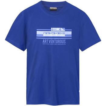 Odjeća Muškarci  Majice kratkih rukava Napapijri NP0A4E36 Plava