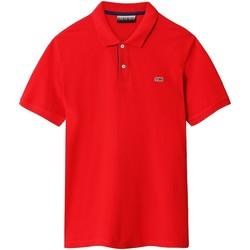 Odjeća Muškarci  Polo majice kratkih rukava Napapijri NP0A4EGD Crvena