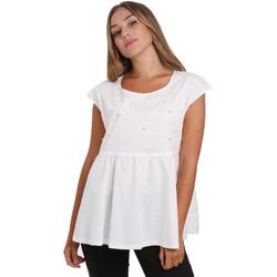Odjeća Žene  Topovi i bluze NeroGiardini E062761D Bijela