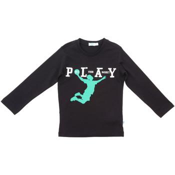 Odjeća Djeca Majice dugih rukava Melby 70C5524 Crno