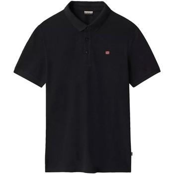 Odjeća Muškarci  Polo majice kratkih rukava Napapijri NP0A4E2M Crno