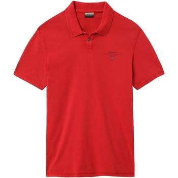 Odjeća Muškarci  Polo majice kratkih rukava Napapijri NP0A4E2L Crvena