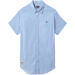 Odjeća Muškarci  Košulje kratkih rukava Napapijri NP0A4E2T Plava