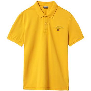Odjeća Muškarci  Polo majice kratkih rukava Napapijri NP0A4EGC Žuta boja