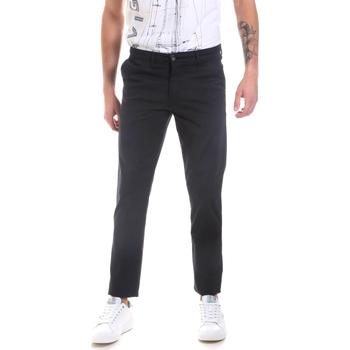 Odjeća Muškarci  Chino hlačei hlače mrkva kroja Les Copains 9U3320 Plava