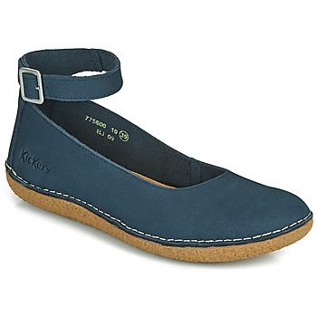 Obuća Žene  Balerinke i Mary Jane cipele Kickers HONNORA Blue