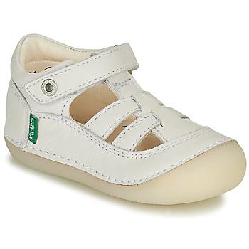 Obuća Djevojčica Balerinke i Mary Jane cipele Kickers SUSHY Bijela