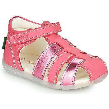 Obuća Djevojčica Sandale i polusandale Kickers BIGFLO-2 Ružičasta