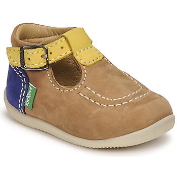 Obuća Dječak  Sandale i polusandale Kickers BONBEK-2 Bež / Žuta