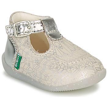 Obuća Djevojčica Balerinke i Mary Jane cipele Kickers BONBEK-2 Srebrna
