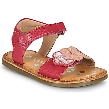 Obuća Djevojčica Sandale i polusandale Kickers DYASTAR Ružičasta