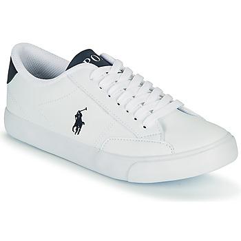 Obuća Djeca Niske tenisice Polo Ralph Lauren THERON IV Bijela