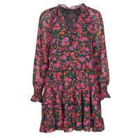 Odjeća Žene  Kratke haljine Moony Mood  Crna / Ružičasta