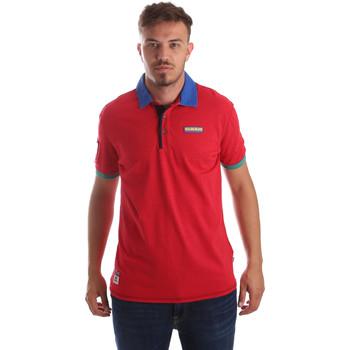 Odjeća Muškarci  Polo majice kratkih rukava Napapijri N0YIG1 Crvena
