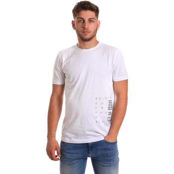 Odjeća Muškarci  Majice kratkih rukava Antony Morato MMKS01223 FA100144 Bijela