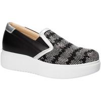 Obuća Žene  Slip-on cipele Exton E02 Crno