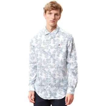 Odjeća Muškarci  Košulje dugih rukava Napapijri N0YIDA Bijela