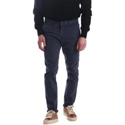Odjeća Muškarci  Chino hlačei hlače mrkva kroja Automatic PAU22172 Plava
