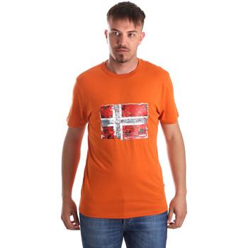 Odjeća Muškarci  Majice kratkih rukava Napapijri N0YIJ4 Naranča