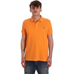 Odjeća Muškarci  Polo majice kratkih rukava U.S Polo Assn. 55957 41029 Naranča