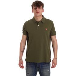 Odjeća Muškarci  Polo majice kratkih rukava U.S Polo Assn. 55957 41029 Zelena