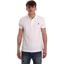 Odjeća Muškarci  Polo majice kratkih rukava U.S Polo Assn. 55957 41029 Bijela