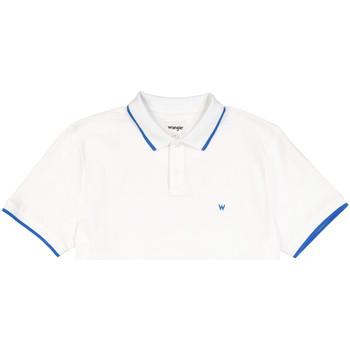 Odjeća Muškarci  Polo majice kratkih rukava Wrangler W7D5K4989 Bijela