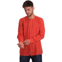 Odjeća Muškarci  Košulje dugih rukava Gaudi 811BU45022 Crvena