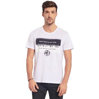 Odjeća Muškarci  Majice kratkih rukava Gaudi 011BU64108 Bijela