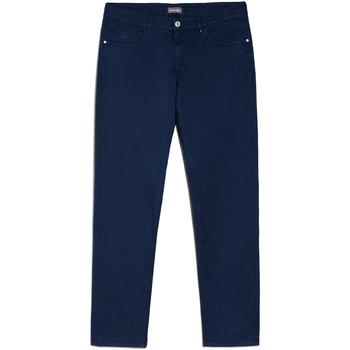 Odjeća Muškarci  Chino hlačei hlače mrkva kroja NeroGiardini E070630U Plava