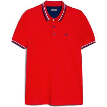 Odjeća Muškarci  Polo majice kratkih rukava NeroGiardini E072390U Crvena