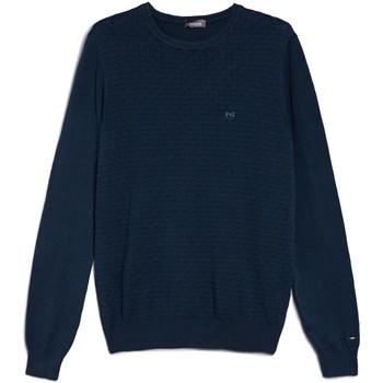Odjeća Muškarci  Puloveri NeroGiardini E074600U Plava