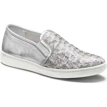 Obuća Žene  Slip-on cipele Keys 5051 Srebro