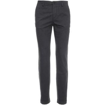 Odjeća Muškarci  Chino hlačei hlače mrkva kroja NeroGiardini A674440U Siva