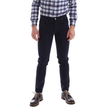 Odjeća Muškarci  Hlače s pet džepova Sei3sei 02396 Plava