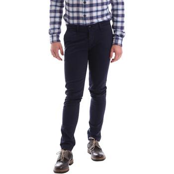 Odjeća Muškarci  Chino hlačei hlače mrkva kroja Sei3sei 02396 Plava
