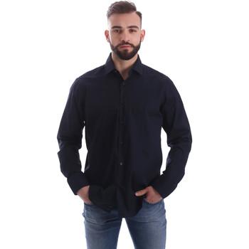 Odjeća Muškarci  Košulje dugih rukava Gmf 962250/01 Plava