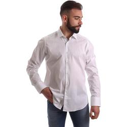 Odjeća Muškarci  Košulje dugih rukava Gmf 962250/03 Bijela