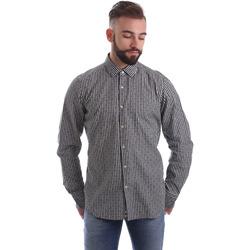 Odjeća Muškarci  Košulje dugih rukava Gmf 962169/04 Crno
