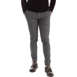Odjeća Muškarci  Chino hlačei hlače mrkva kroja Sei3sei 2626 Siva