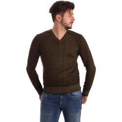 Odjeća Muškarci  Puloveri Wool&co WO0002 Smeđa